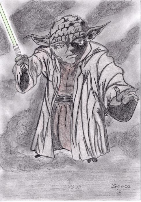 Yoda by Ynnej59